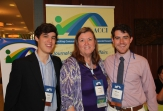 Blake Mathews and Anthony Reyna attend American Council on Consumer Interests Annual Conference